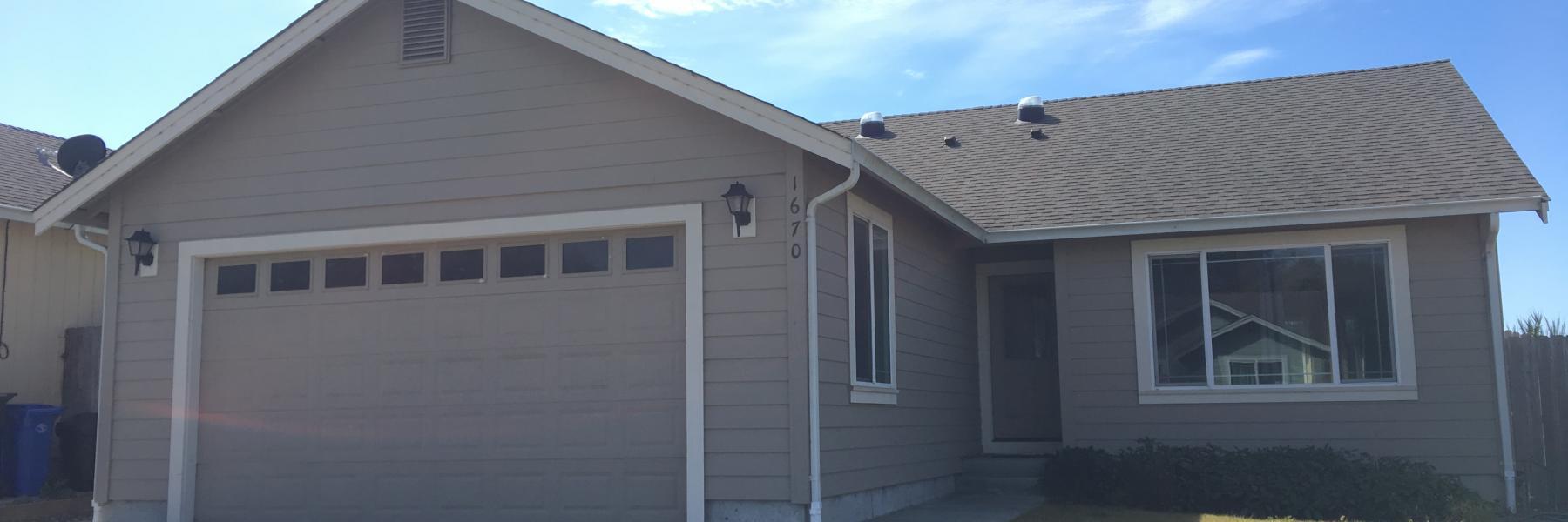 1670 Oakdale McKinleyville Home for Rent